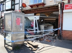 Scene of Thurnscoe ATM smash-and-grab