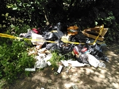 Don't hire a fly-tipper or you could be fined - warning