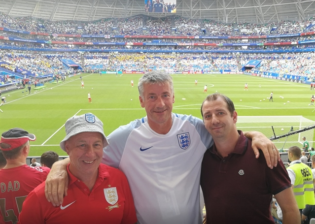 After 20 years of hurt, England fan Jim dreams of World Cup glory