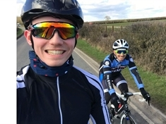 Father and son gearing up for 50-mile ride for CLIC Sargent