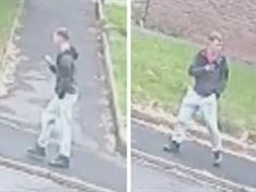 CCTV: Police hunt for delivery driver attacker