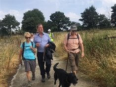 VIDEO: Lord David Blunkett opens Rotherham's revived 50-mile walk