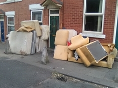 Landlord clears same rubbish twice in four days