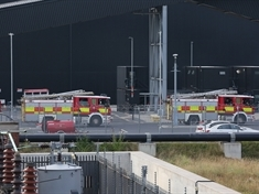 Fire crews continue visits to biomass plant after blaze