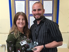 Supply teacher Steven McArdle given top marks by award judges