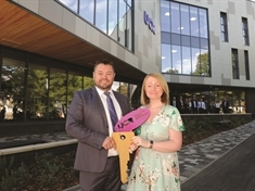 Keys handed over to the new £12m University Centre Rotherham
