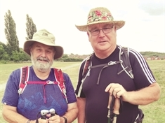 "Two ""fat old men"" take on 125km walk in memory of Beaver Scout leader"