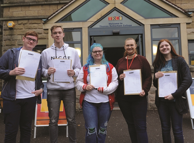 A LEVELS: Rotherham students celebrate record A level exam results