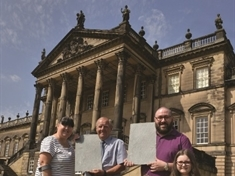 Wentworth Woodhouse honour for delighted dads