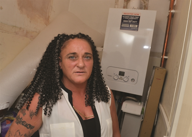 'Two-month long gas leak made us ill', claims council house mum