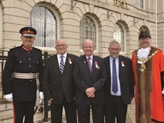 Unsung heroes honour at British Empire Medal presentation