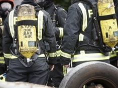 Bedroom fire sparked by 'smoking materials'