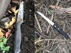 VIDEO: Knives found in Rotherham parks as knife crime op starts