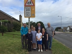 New speed signs aimed at making school run safer