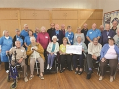 Dementia-friendly Forget Me Not group welcomes £600 windfall
