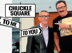 Your chance to back our new ChuckleVision for town - sign our petition to honour Barry