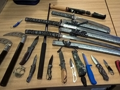 Dozens of arrests and weapons seized as part of Op Sceptre