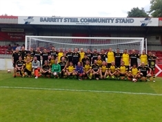 Borussia Dortmund and Sheffield FC team up for Bluebell Wood kickabout