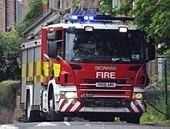 Arson attack in North Anston