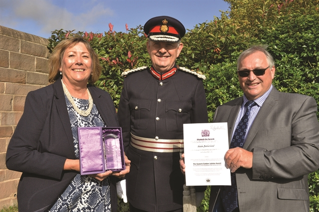 Queen's Award handed to homeless charity Shiloh