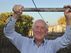 Plucky Peter (79) takes on world's fastest zip wire to inspire lonely OAPs