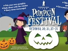 WIN! A family ticket to this Year's Cannon Hall Farm Pumpkin Festival