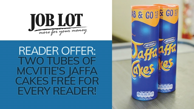READER OFFER: Two tubes of Mcvitie's Jaffa Cakes FREE for every reader!