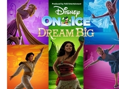 WIN family tickets to see Disney On Ice presents Dream Big...