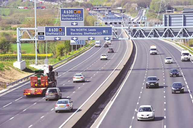 M1 roadworks planned for this week