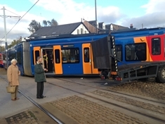 Tram Train crash passenger says 'lessons must be learned'