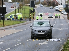 Town centre crash teen remains in 'serious' condition