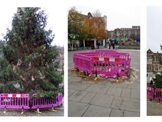 Christmas tree, o Christmas tree, how lovely are thy branches (now!) — Rotherham's 'tree of death' replaced