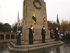 Rotherham remembers: Crowds gather for Armistice Day tributes