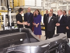 VIDEO: Duke of Cambridge 'looking forward to seeing more McLarens on the road'