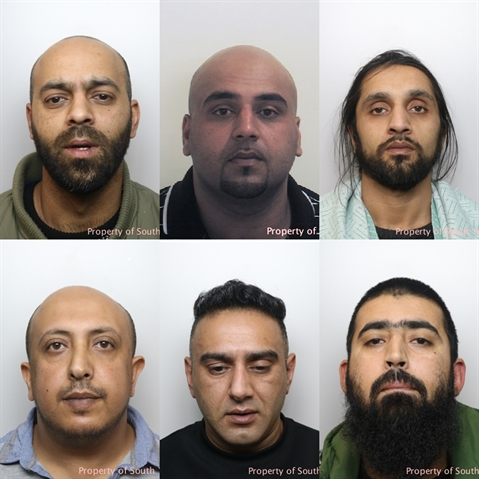 BREAKING: Child abuse gang jailed for a total of 101 years