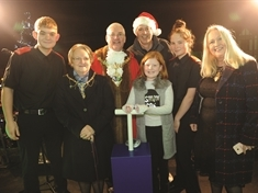 VIDEO: Colourful, musical Christmas kick-off for Rotherham town centre