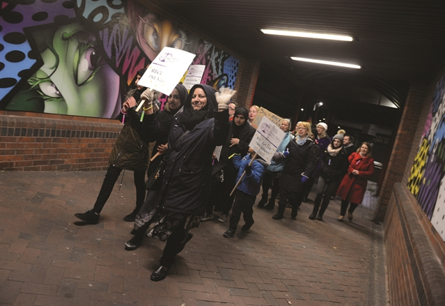 Women urged to join march and Reclaim the Night this Friday