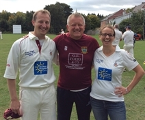 Couple bowled over by success of Anston cricket fundraiser