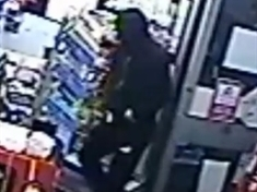 CCTV image of knife-wielding Maltby armed robber