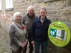 Pride as community-funded Letwell defibrillator becomes a lifesaver