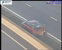 TRAFFIC: Two lanes closed on M1 southbound at junction 32 following accident