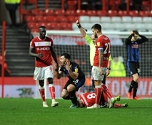 Nine men and the salute at the end ... the story of Bristol City 1 Rotherham United 0