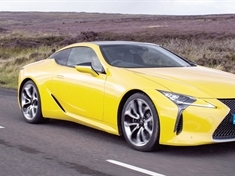 MOTORS REVIEW: Lexus LC500