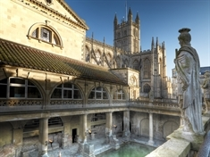 Discovering the delights of Bath