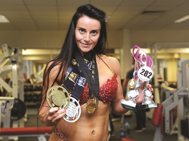 Rotherham bikini fitness enthusiast promotes the body beautiful