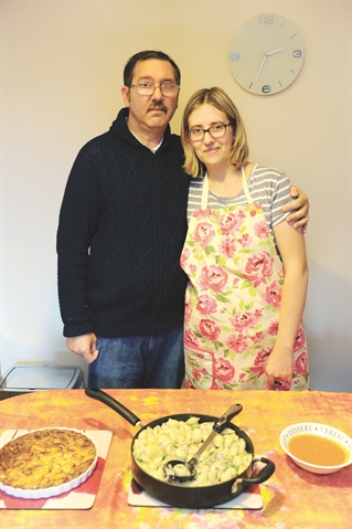 Dinnington couple spread healthy eating message online