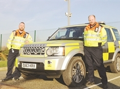 Wild pigs, breakdowns and random roof racks - it's all in a day's work for Highways England's M1 patrol team