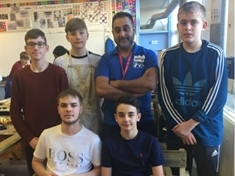 Workshops help Swinton students build skills - and seats for their mates