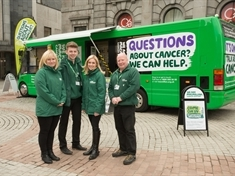 Advice on offer as Macmillan cancer team stops by