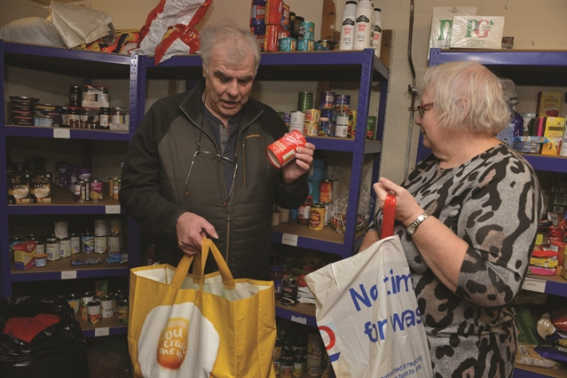 Operational changes at 'over-stretched' Wath foodbank